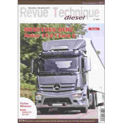 REVUE TECHNIQUE MERCEDES BENZ ANTOS 10,6L EURO - RTD 304 Librairie Automobile SPE RTD304