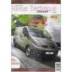 REVUE TECHNIQUE RENAULT TRAFIC II 2.0 DCI Librairie Automobile SPE RTD289