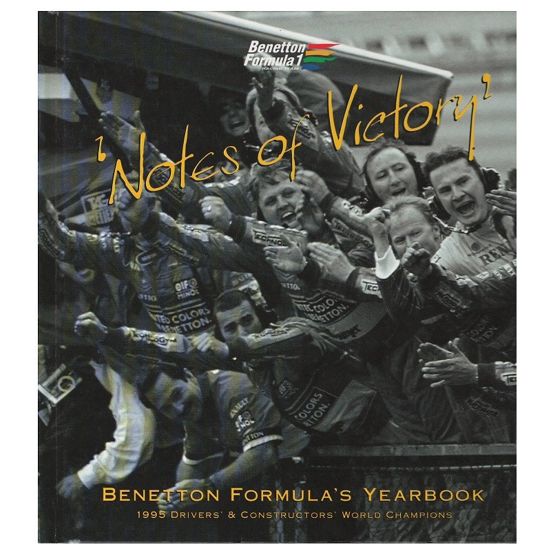 BENETTON FORMULA 1 - Notes of Victory Librairie Automobile SPE BENETTON FORMULA 1