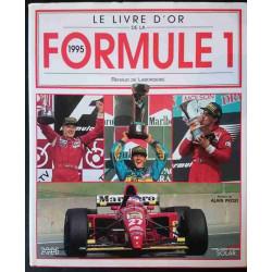 LIVRE D'OR DE LA FORMULE 1 1995 Librairie Automobile SPE 9782263022913