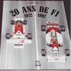 20 ANS DE F1 1972-1992 MARLBORO BRM Librairie Automobile SPE 9782263018381