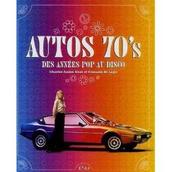 AUTO 70s DES ANNÉES POP AU DISCO Librairie Automobile SPE 9782726886748