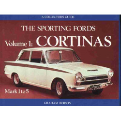 THE SPORTING FORDS CORTINAS MARK 1 to 5