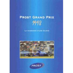 PROST GRAND PRIX 1998 Tome 1 Librairie Automobile SPE 9782940125302