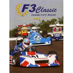 F3 Classic Formule 3 et Formule Renault Saison 2005 Librairie Automobile SPE F3classic2005