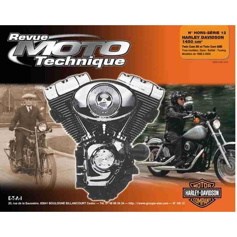 REVUE MOTO TECHNIQUE HARLEY DAVIDSON TWIN CAM - RMT HS12 Librairie Automobile SPE 9782726895115