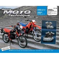 REVUE MOTO TECHNIQUE HONDA MTX 50 de 84 à 87 et YAMAHA DT 50 de 81 à 87 - RMT 65 Librairie Automobile SPE 9782726890882