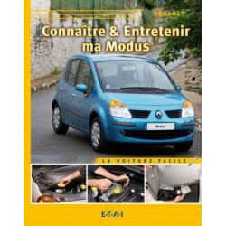 CONNAÎTRE ET ENTRETENIR MA RENAULT MODUS Librairie Automobile SPE 9782726889039