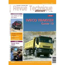REVUE TECHNIQUE IVECO TRAKKER CURSOR 13 Librairie Automobile SPE 3189470211639