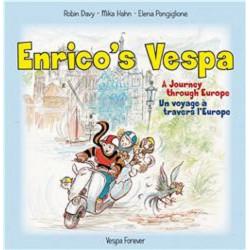 9783938140123 ENRICO'S VESPA Un voyage à travers l'Europe