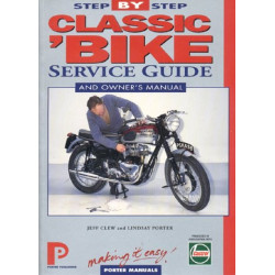 CLASSIC BIKE SERVICE GUIDE AND OWNER'S MANUAL Librairie Automobile SPE 9781899238088