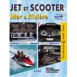 JET ET SCOOTER / CHRISTOPHE HARMAND / EDITIONS ETAI Librairie Automobile SPE 9782726888780