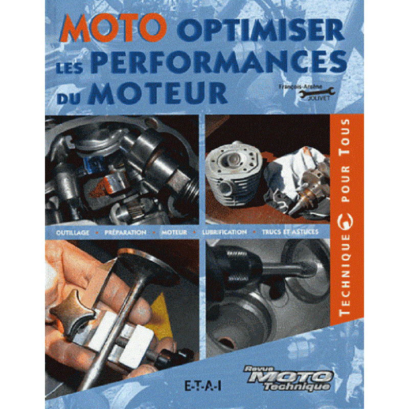 9782726895658 MOTO OPTIMISER LES PERFORMANCES DU MOTEUR