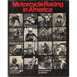 MOTORCYCLE RACING IN AMERICA Librairie Automobile SPE 9780879554187