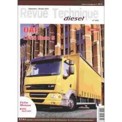 REVUE TECHNIQUE DAF LF55 EURO 5 - RTA 309 Librairie Automobile SPE RTD309