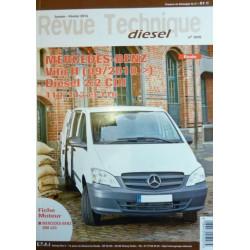 REVUE TECHNIQUE MERCEDES-BENZ VITO II - RTD 305 Librairie Automobile SPE RTD305