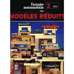 L'ANNÉE DES MODELÉS RÉDUITS Vol 2 - 1983 Librairie Automobile SPE 9782880011383