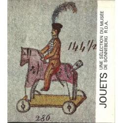 JOUETS, une sélection du Musée de Sonneberg R.D.A. Librairie Automobile SPE JOUETS RDA