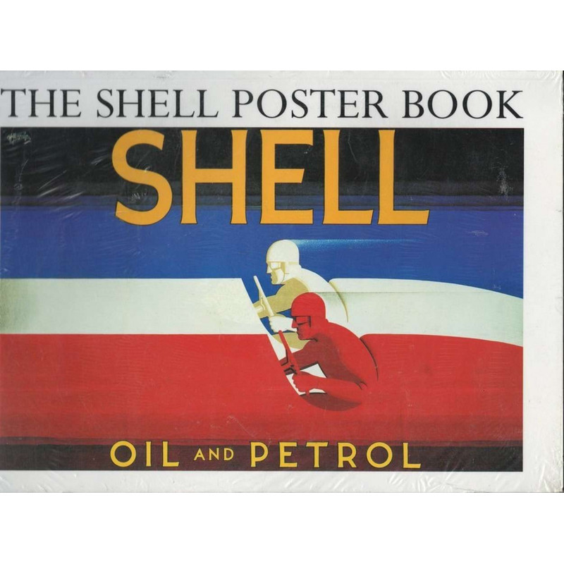 THE SHELL POSTER BOOK Librairie Automobile SPE 9780241131909