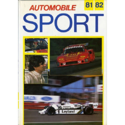 AUTOMOBILE SPORT 1981-82 Librairie Automobile SPE 09078047012