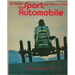 HISTOIRE DU SPORT AUTOMOBILE PAR Raymond flower EPA Librairie Automobile SPE Histoire du sport aut