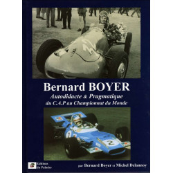 BERNARD BOYER du CAP au CHAMPIONNAT DU MONDE Librairie Automobile SPE 9782914920773
