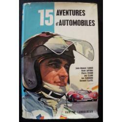 15 AVENTURES D' AUTOMOBILES de JUAN-MANUEL FANGIO Librairie Automobile SPE 15 AVENTURES
