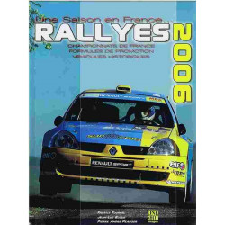 RALLYES 2006 / Fabrice TOURREL / One shot Librairie Automobile SPE 9782952530521