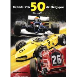 50 GRANDS PRIX DE BELGIQUE 1925-1992 Librairie Automobile SPE 9789090064291