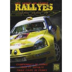 RALLYES 2007 UNE SAISON EN FRANCE Librairie Automobile SPE 9782952530538