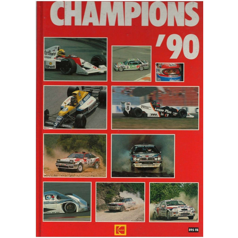 CHAMPIONS ' 90 Librairie Automobile SPE CHAMPIONS 90