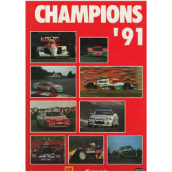 CHAMPIONS ' 91 Librairie Automobile SPE CHAMPIONS 91