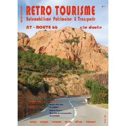 RETRO TOURISME N°1 - NATIONALE / ROUTE 66 LE DUEL Librairie Automobile SPE RETRO1