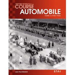 HISTOIRE MONDIALE DE LA COURSE AUTOMOBILE Tome 3 - ETAI Librairie Automobile SPE 9791028300265