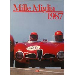 MILLE MIGLIA 1987 Librairie Automobile SPE MILLE 1987