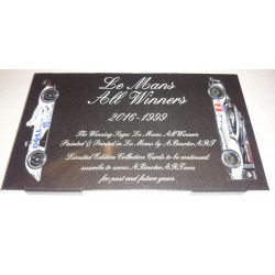 18 CP LE MANS ALL WINNERS 2016-1999 Librairie Automobile SPE 2016-1999