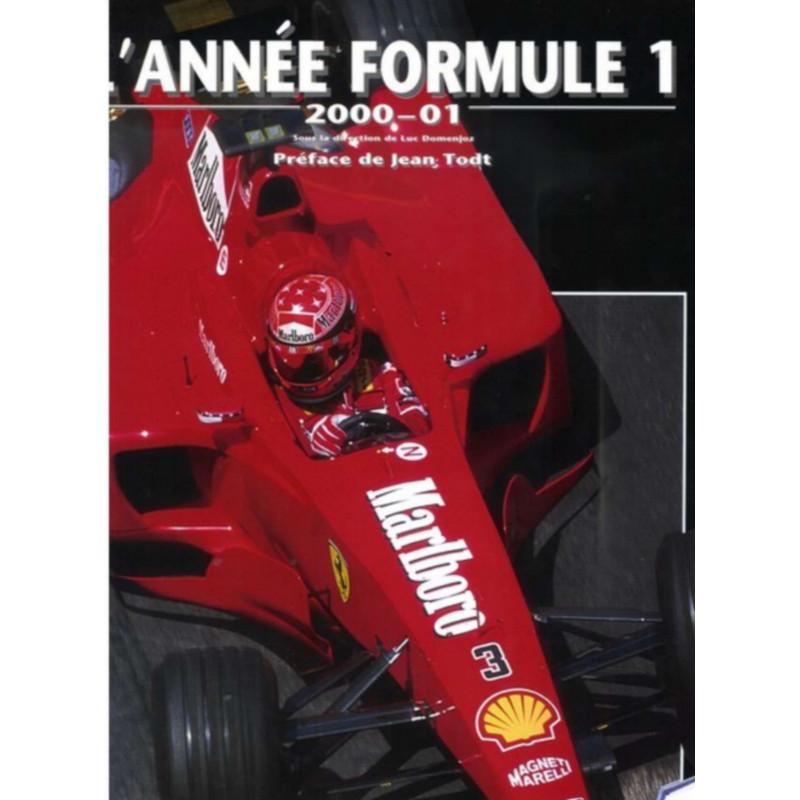 L'Année Formule 1 - Edition 2000-2001 / I. Domenjoz / Editeur Chronosport-9782940125487