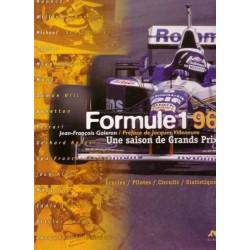 FORMULE 1 - 96 / UNE SAISON DE GRANDS PRIX Librairie Automobile SPE SAI96
