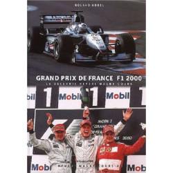 GRAND PRIX DE FRANCE F1 2000. LA DÉCENNIE NEVERS MAGNY-COURS Librairie Automobile SPE 9782911639173