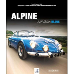 ALPINE LA PASSION BLEUE Librairie Automobile SPE 9791028302375