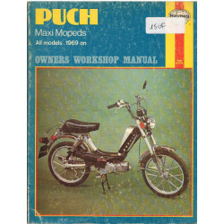 PUCH MAXI MOPEDS 1969 - OWNERS WORKSHOP MANUAL Librairie Automobile SPE 0856965830