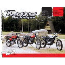 REVUE MOTO TECHNIQUE YAMAHA DT 125 de 1974 à 1976 - RMT 22 Librairie Automobile SPE 9782726890158