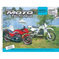 REVUE MOTO TECHNIQUE KAWASAKI 750 - RMT 49 Librairie Automobile SPE 9782726890431