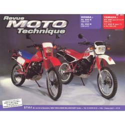 REVUE MOTO TECHNIQUE YAMAHA XT et TT 350 de 1985 à 1994 - RMT 61 Librairie Automobile SPE 9782726890554