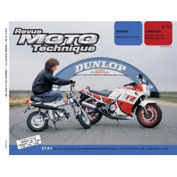 REVUE MOTO TECHNIQUE YAMAHA FZ et FZX 750 de 1985 à 1988 - RMT 69 Librairie Automobile SPE 9782726890639