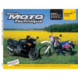 REVUE MOTO TECHNIQUE KAWASAKI ZZ-R 600 de 1990 à 2002 - RMT 86 Librairie Automobile SPE 9782726890806