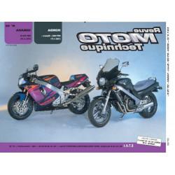 REVUE MOTO TECHNIQUE YAMAHA YZF 750 de 1993 et 1994 - RMT 92 Librairie Automobile SPE 9782726890875