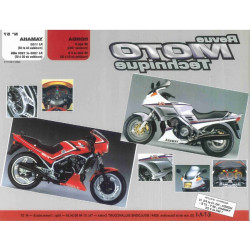 REVUE MOTO TECHNIQUE YAMAHA FJ 1100 et 1200 de 1984 à 1985 - RMT 57 Librairie Automobile SPE 9782726890516