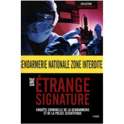 Une étrange signature - collection zone interdite Librairie Automobile SPE 9782359600032
