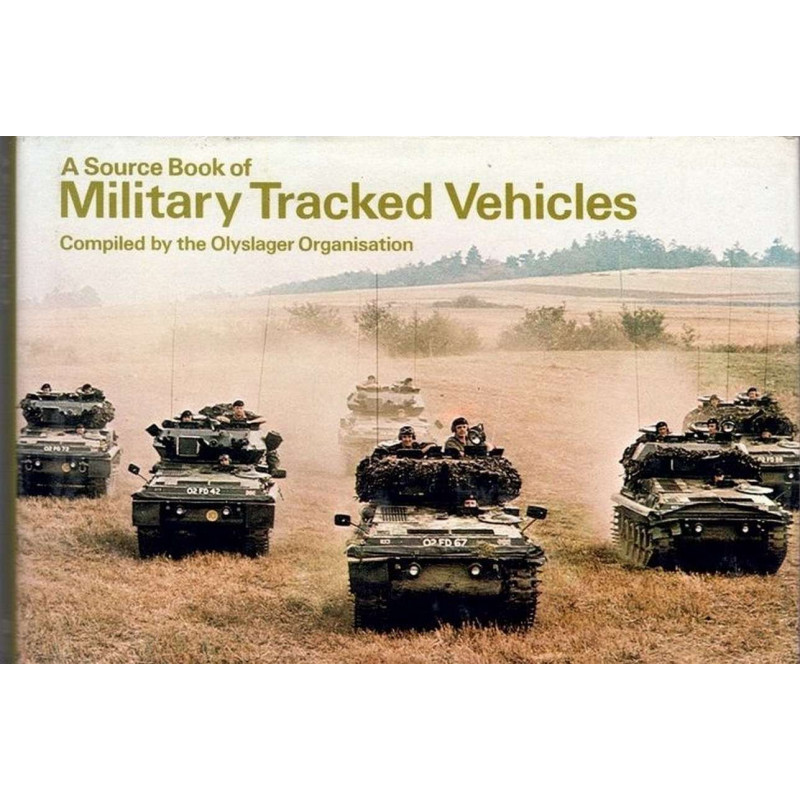 MILITARY TRACKED VEHICLES ( A SOURCE BOOK OF .) Librairie Automobile SPE B001PES8GI